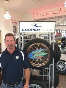 Tim Roche, president of Kan Rock Tire in Flint.