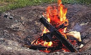 Campfires should be watched extra carefully with the ongoing dry conditions across the state.