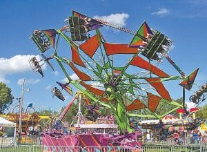 The midway will be at the heart of the Genesee County Fair.