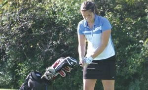 Meghan Borgerding led the Lady Cavs in last year's Lapeer Tuneup with a 94.