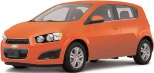 The Chevy Sonic is a Kelley Blue Book Back-to-School Top Pick