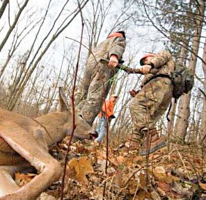 Hunters need to be physically fit, especially during deer hunting season.