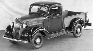 1937 Chevrolet half- ton pickup truck