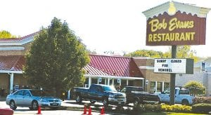 Bob Evans on Miller Road was closed last week for remodeling but reopened Sunday with a new look.