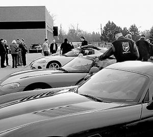 Viper owners descended on the former Kmart on Joslyn Road, which was the scene of a gathering for the Prefix Coatings open house.