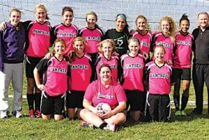 The MESA Panthers U17 girls' soccer team recently competed nationally in Indianapolis.