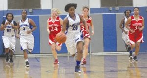 Bianca Jackson (20) and the Lady Cavaliers will charge into Saginaw Valley League play Friday against Flushing.
