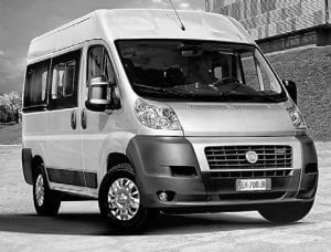 The new Ram ProMaster will be based on the Fiat Ducato, pictured here.