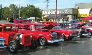 The second annual Back to the Bricks Tune-Up event was held in Flint Township in August.