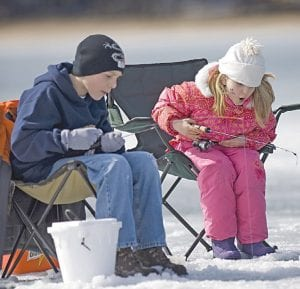 Anglers of all ages can take part in the Free Fishing Weekend, Feb. 16-17.