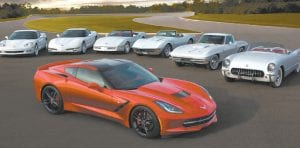 While the Corvette has changed over 60 years, it has never lost its sense of style or power.
