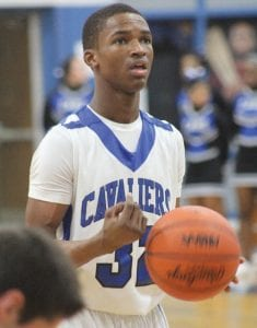 Justice Green scored 18 for the Cavs in the playoffs against Swartz Creek.