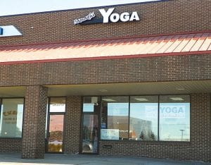 Denise Alick, owner of Samadhi Yoga Center, has moved her studio to Linden Road. Samadhi Yoga Center on Linden Road opened in December.