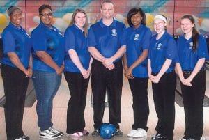 The Carman-Ainsworth girls' bowling team placed sixth at the state meet.