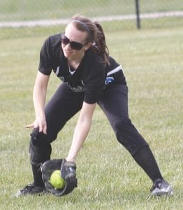 Senior Jennie Klapko will anchor the Lady Cavs' outfield in center field.