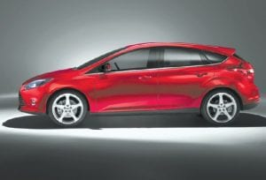 2013 all- new Ford Focus global compact passenger car