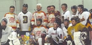 Davison won the 18+ division in the alumni hockey tournament at the Polar Palace on Sunday.