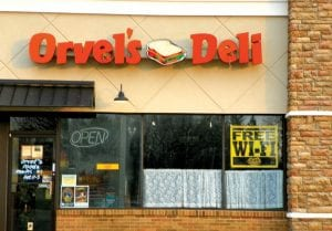 After 29 years in business, Orvel's Deli, 4215 Miller Rd. in the Valley Plaza, closed on April 30. Patrons with a hankering for their home-styled meals still can dine at Orvel's Grand Blanc location at Genesys Hospital.