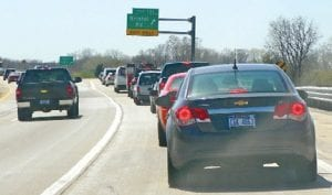 On the first day of the I-69 ramp closures off I-75, eastbound motorists being detoured west to Bristol Road were spending as long as 15 minutes waiting to exit.