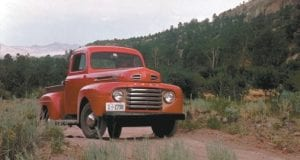 The 1948 Ford F-1 pickup truck