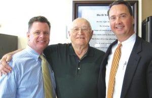 Tim Hall, Ed Hyypio and Jim Hall