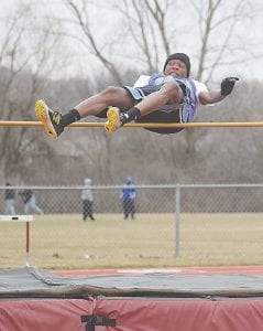 Carman-Ainsworth's Ja'Quin Jones tied for fourth at the state meet in the high jump.