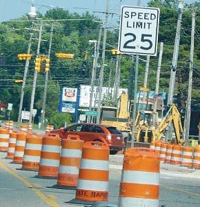 Such is the case with summer construction projects in Flint Township. Access lanes from I-75 to I-69 reopened last Thursday after being shut down about six weeks with traffic detoured. Also last Monday, road resurfacing began on Bristol Road between Van Slyke and Fenton roads with both eastbound lanes closed and all traffic shifted to the westbound lanes. That project is scheduled for completion by the end of August.