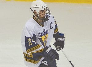 Andrew Lay of the Flint Junior Generals skates across the ice at Iceland Arena last season.