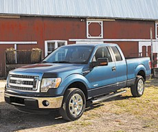 "The Ford F- 150 was declared by Cars.com to be the ""most American"" vehicle made today, with 75 percent domestic- parts content and strong sales."
