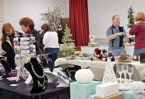 Vendors of a variety of gift products including jewelry, herbs, soaps, candles, quilts and other crafts attended the first Holiday Boutique at the Flint Township Senior Citizens Center.