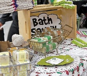 Bath Savvy is a line of handmade, natural soaps, creams and other body care products sold by Jan Reaves of Davison.