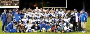 Carman-Ainsworth football won the Saginaw Valley League-South title and qualified for the state playoffs and advanced to the regional final.