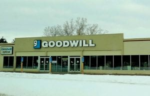 The Goodwill store was among those closed by a power outage several days before and after Christmas.