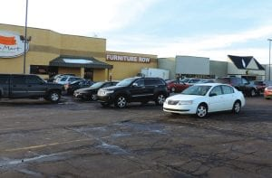 Signs point to another large retail vacancy when Furniture Row stores close next month.
