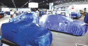 The week began with numerous concept cars under wraps on the display floor waiting to be unveiled in a worldwide debut.