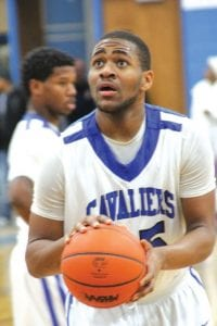 Cameron Morse scored 25 points for Carman- Ainsworth against Lapeer East at home last Friday.