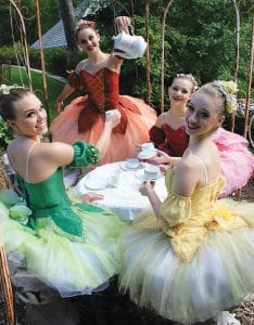 "Young People's Ballet Theatre ""Fairy Tea"" Party."