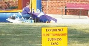 At the first Flint Township Expo last year, hosted by Davenport University on Miller Road, attractions included a bounce house for children and vendor booths by local businesses and restaurants.