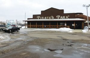 Pirates Park is closed and for sale. Township officials are seeking a state grant to buy it.