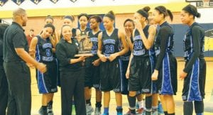 Carman-Ainsworth girls basketball won the Saginaw Valley, Class A district and regional titles and qualified