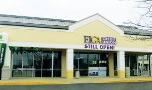 ELGA Credit Union has relocated in the West Acres Commons plaza on Corunna Road near Linden Road.