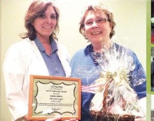 Louise Downs was named the March winner of Maxwell Therapy's Pay It Forward program.