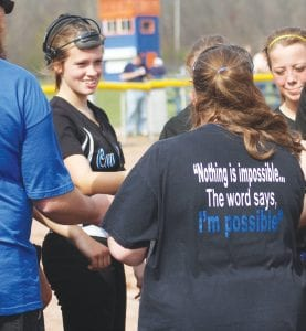 The Cavs face a tough task in the district, but as coach Joy Roe's shirt says, 'Nothing is impossible …'