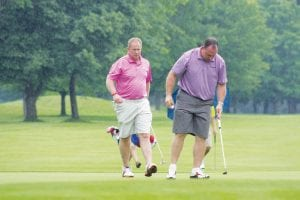 Golfers took to the course at King Par in Flushing, June 23, for a golf classic to benefit various Genesee County charities. In three years the event has raised more than $120,000 for those charities, including the Flint Junior Golf Association.