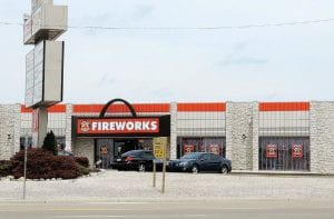 Motor City Fireworks has moved in as the second permanent fireworks store on Miller Road.