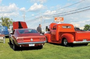 Classic cars owners got a chance to show off their vehicles at a cruise on Corunna Road last week with more to look forward to as Back to the Bricks events crank up in coming weeks.