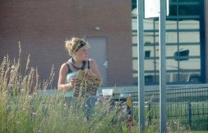 The I-75 exit ramp at Miller Road has been a regular spot for panhandlers for quite some time but in recent months the practice has spread to other corners throughout the township.