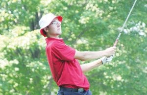 Defending champion Ben Zyber was shooting for his second straight title on Wednesday.