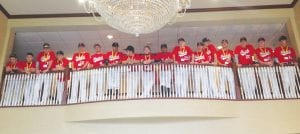 The Foutch's Strike Zone 16U team at the hotel in McKinney, Texas for the Mickey Mantle World Series last week through Sunday.