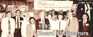 Take a look at this old sepia snapshot of the WFBA board of directors from its early years. Where are they now?